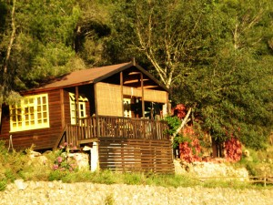 Thai cabin summer
