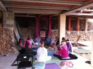 Yoga life bliss NSP retreat 2013