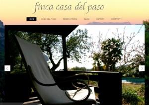 website casa del paso (Neue Webseite – Finca Casa del Paso)