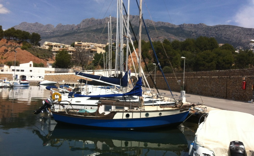 sail, sailing at Casa del Paso, Bolulla, Algar Waterfalls,El Castell de Guadalest, Altea, Benidorm, Costa Blanca, Spain