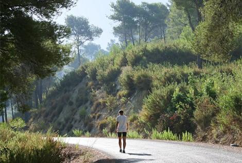 trekking, hiking, walking at Casa del Paso, Bolulla, Algar Waterfalls,El Castell de Guadalest, Altea, Benidorm, Costa Blanca, Spain