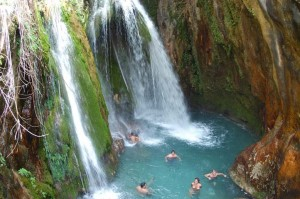 AlgarWaterfallsSwimming